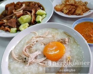 Foto 3 - Makanan di Bubur Ayam Tangki 18 Aguan oleh Asiong Lie @makanajadah