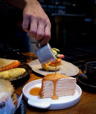 Foto - Makanan(Thai Tea Layer Cake) di Gormeteria oleh Melisa Cubbie