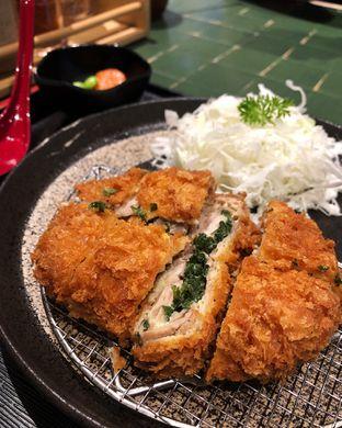 Foto 1 - Makanan(Chicken katsu set-negi) di Kimukatsu oleh Claudia @grownnotborn.id