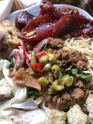 Foto 2 - Makanan di Bakmi Ajong Singkawang oleh @Sibungbung