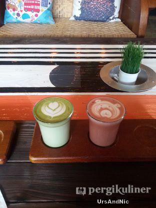 Menu populer greentea latte & redvelvet latte