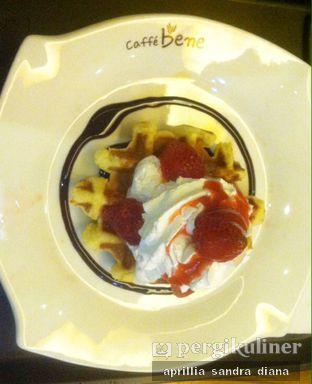 Foto 2 - Makanan(Cream Waffle) di Caffe Bene oleh Diana Sandra