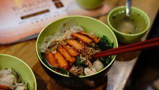 Foto 4 - Makanan di Vegetarian Bakmie Garing H-P (Hot Pedas) oleh deasy foodie
