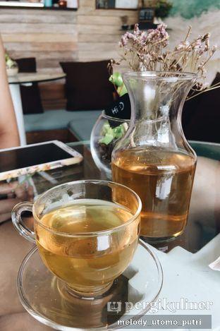 Foto 1 - Makanan(green peach tea) di Cupten Cafe oleh Melody Utomo Putri