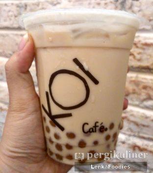 Foto 2 - Makanan(Hazelnut Milk Tea with GoldenBoba) di KOI Cafe oleh LenkaFoodies (Lenny Kartika)