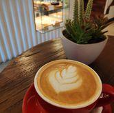 Foto Hazelnut cafe latte di Mura Kedai Kopi