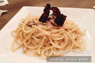Foto 3 - Makanan(Spaghetti Carbonara with pork ) di Clique Kitchen & Bar oleh Melody Utomo Putri