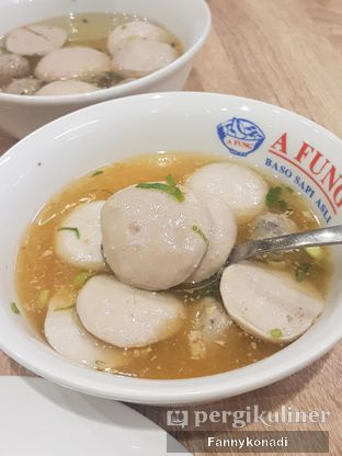 Foto 1 - Makanan di A Fung Baso Sapi Asli oleh Fanny Konadi
