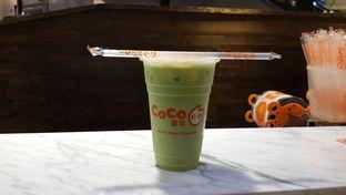 Foto 1 - Makanan(Matcha Milk Tea) di Coco oleh Chrisilya Thoeng