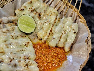 Hasil gambar untuk sate taichan mozarella