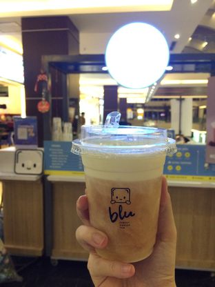 Foto 1 - Makanan(Cheese Golden Jasmine Tea) di Blu Cheese Tea oleh Elvira Sutanto