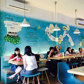 Foto Interior di North Pole Cafe
