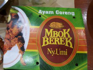 Foto review Ayam Goreng Mbok Berek Ny. Umi oleh Alvin Johanes 1