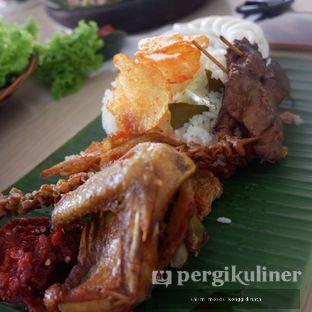 Foto 1 - Makanan di Alas Daun oleh Oppa Kuliner (@oppakuliner)