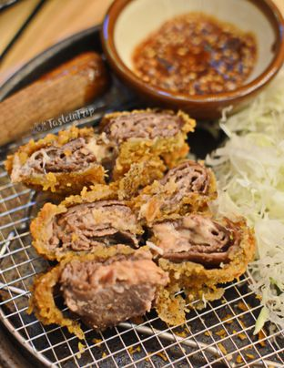 Foto 2 - Makanan(Cheese Beef Katsu) di Kimukatsu oleh Lastia @tasteintrip