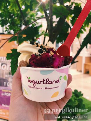 Foto - Makanan di Yogurtland oleh Fioo | @eatingforlyfe