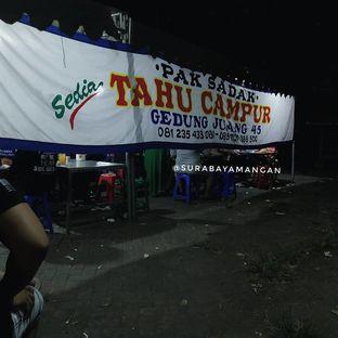 Foto review Pak Sadak Tahu Campur Lamongan oleh surabaya mangan 2