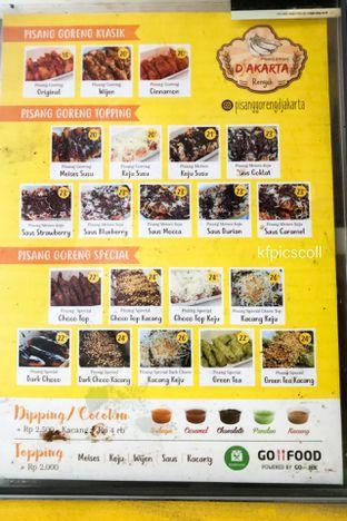 Foto 2 - Menu(List Harga) di Pisang Goreng Djakarta oleh Kumala Yang