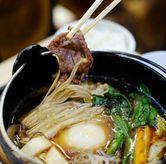 Foto Australia Beef Sukiyaki Set di Hanei Sushi