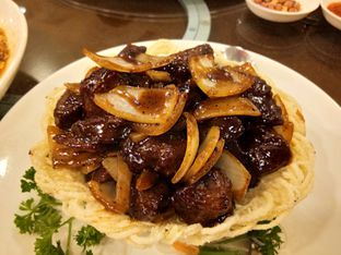 Foto 2 - Makanan(Sapi lada hitam) di Teo Chew Palace oleh Komentator Isenk