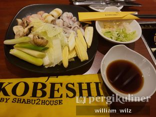 Foto 1 - Makanan di KOBESHI by Shabu - Shabu House oleh William Wilz