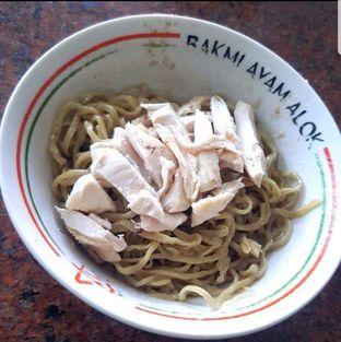 Foto 2 - Makanan di Bakmi Ayam Alok oleh heiyika