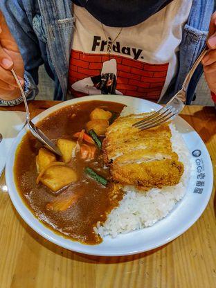 Foto 2 - Makanan(Chicken Cutlet & Vegetable Curry) di Coco Ichibanya oleh Adhy Musaad