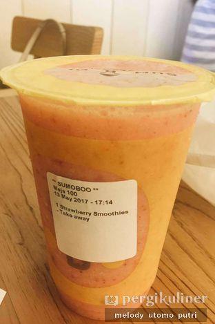 Foto 2 - Makanan(strawberry Smoothies) di Sumoboo oleh Melody Utomo Putri