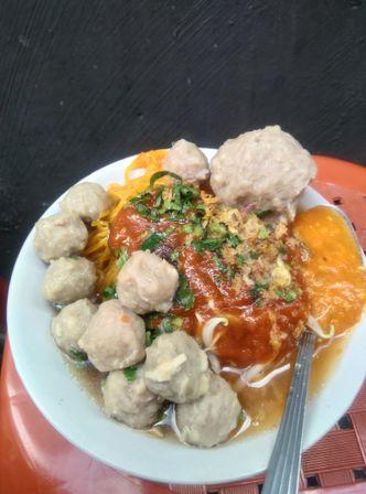 Foto Makanan di Baso Mas Galing