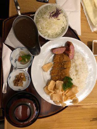 Foto 3 - Makanan(Pork sausage katsu curry set) di Katsutoku oleh Vising Lie
