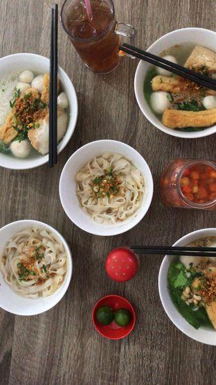 Foto - Makanan di Ahan Bakso Ikan Telur Asin oleh elricacresensia