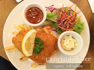 Foto 4 - Makanan(Fish and Chips) di Meat Me Steak House & Butchery oleh Agnes Octaviani