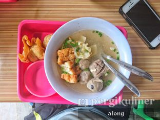 Foto - Makanan(BAKSO CAMPUR) di Bakso Keju Bintoro oleh #alongnyampah
