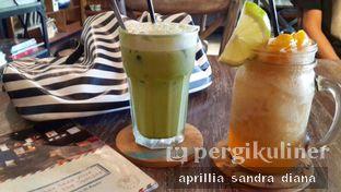 Foto - Makanan(Iced Green Tea Latte & Iced Peach Tea) di Cottonwood Bed & Breakfast House oleh Diana Sandra