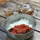 Foto Nasi dendeng balado di Dianti Daily Rice Bar
