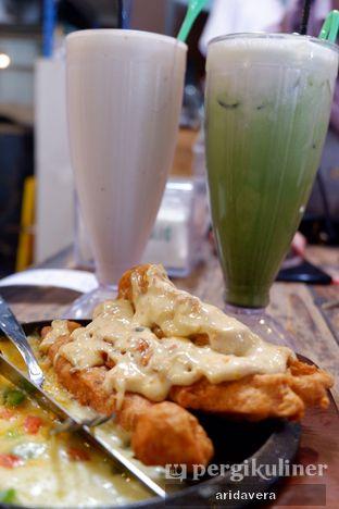 Foto 2 - Makanan(Jus Durian Green Thai Tea) di Infinito Disconnect oleh Vera Arida