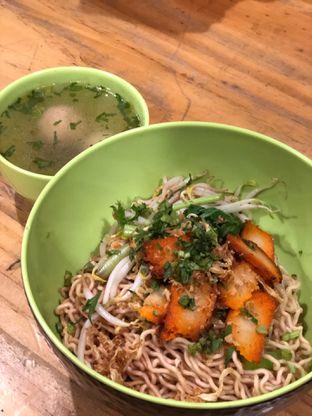 Foto 1 - Makanan di Vegetarian Bakmie Garing H-P (Hot Pedas) oleh Jeniffer Gracellia