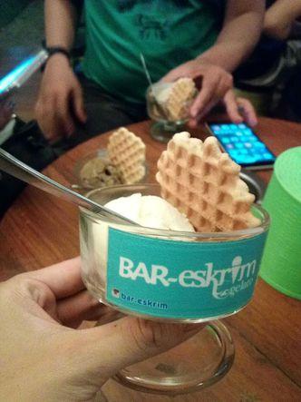 Foto Makanan di BAR.eskrim GELATO