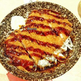 Foto 12 - Makanan(Chicken cutlet teriyaki donburi) di Kappa Sushi oleh duocicip