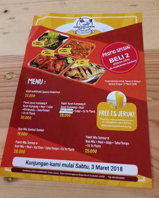 Foto 2 - Menu di Bandar Ayam Kampung oleh maysfood journal.blogspot.com Maygreen