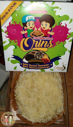 Foto 3 - Makanan(Martabak Keju Jagung Sedang) di Martabak Orins oleh Jenny (@cici.adek.kuliner)