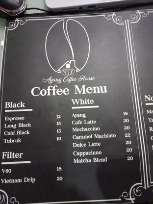 Foto 1 - Menu di Ayang Coffee oleh Rickie Yahya