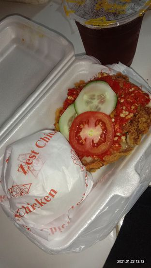 Foto review Zest Fried Chicken oleh Cindy Anfa'u 1