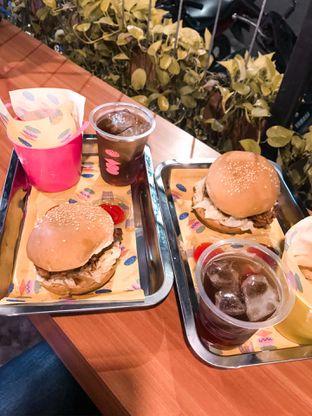 Foto 1 - Makanan di Burger Plan oleh @makankudiary (by tamy)