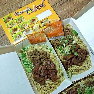 Foto 7 - Makanan(Mie Campur) di Bakmie Aloi oleh duocicip
