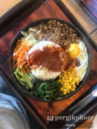 Foto 2 - Makanan(Bimbimbap) di Platter oleh #alongnyampah