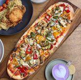 Foto Vegetarian Pizza di Convivium