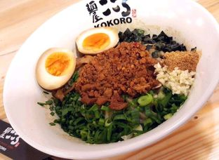 Foto 3 - Makanan di Kokoro Tokyo Mazesoba oleh heiyika