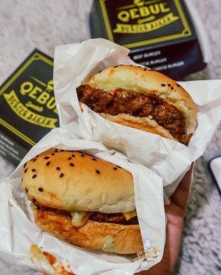 Foto - Makanan di Burger Bakar Qebul oleh @Foodbuddies.id | Thyra Annisaa