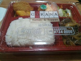 Foto 1 - Makanan di Gokana oleh Marisa Agina